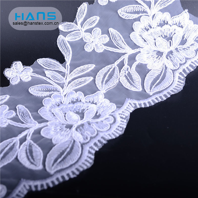 Hans ODM/OEM Design White Dress Lace