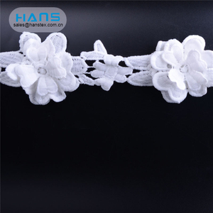 Hans Eco Friendly Colorful Lace Fabric Dubai
