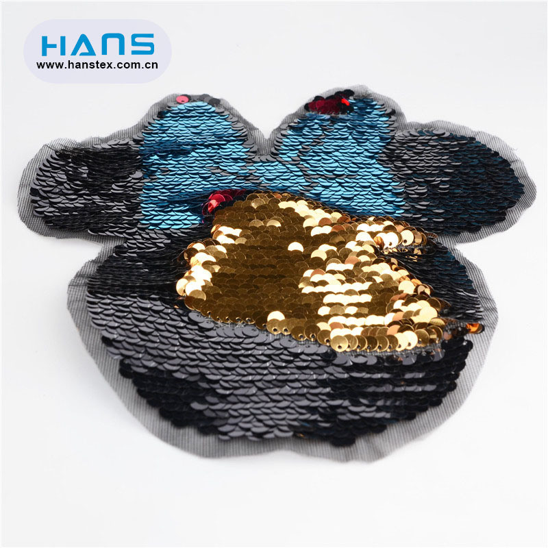 Hans Super Cheap Various Bead Applique Sequin Flowers