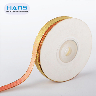 Hans Amazon Top Seller Colorful Glitter Ribbon