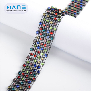 Hans Excellent Quality Promotional Rhinestone Tape