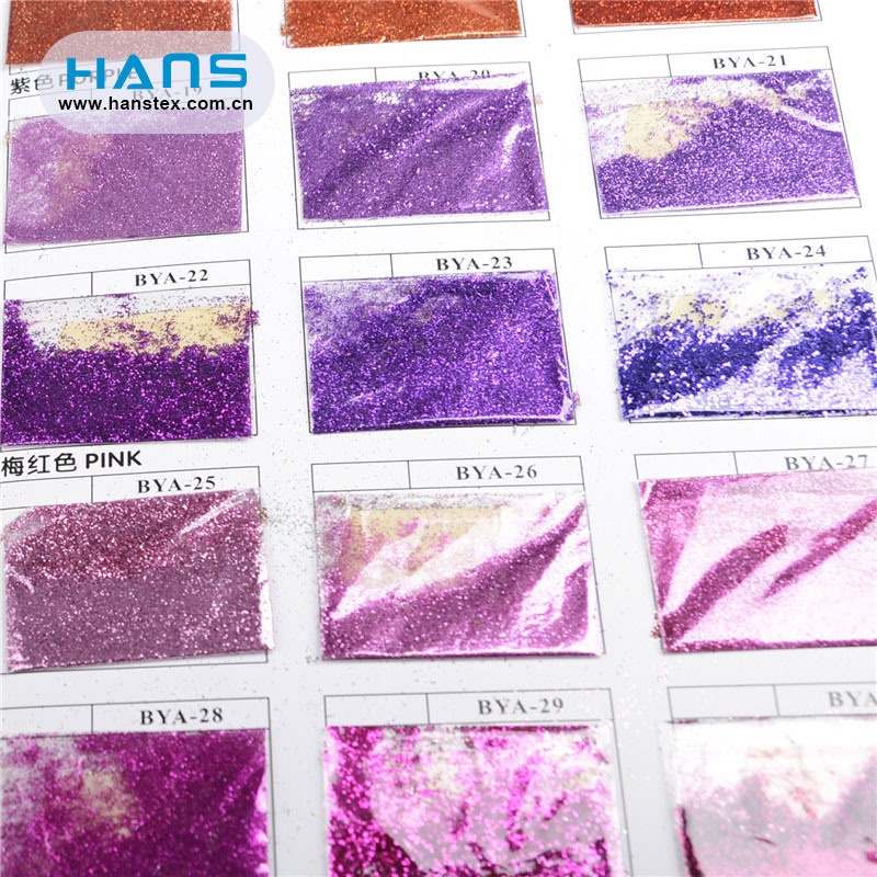 Hans Factory Directly Sell Clear Bulk Glitter Powder