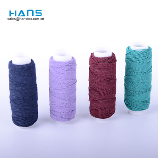 Hans Accept Custom Multicolor Latex Thread
