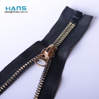 Hans Fast Delivery Promotional Zipper Plastic