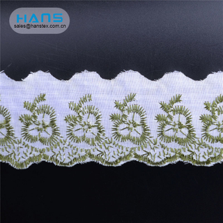 Hans Wholesale Custom Logo Party Textile Lace