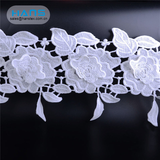 Hans Most Popular Super Selling Dress Cotton Crochet Lace Fabric