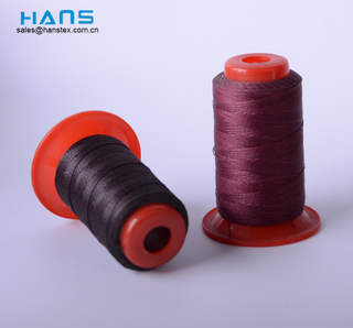 Hans Factory Prices Mixed Colors Bonded Polyester Thread