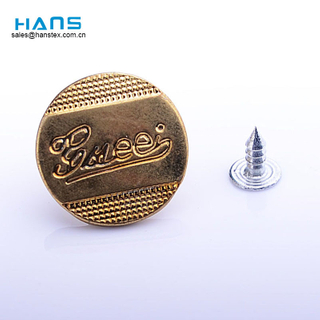 Hans New Design Different Types of Jeans Button