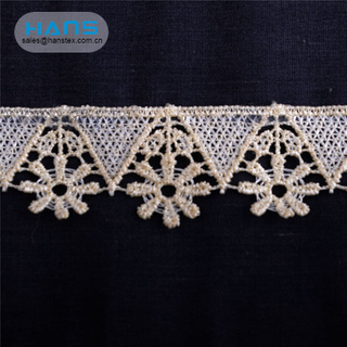 Hans Your Satisfied Multi-Color Polyester Lace Trim
