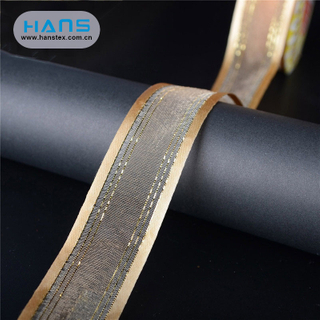 Hans Accept Custom Promotional Gift Wrapping Ribbon