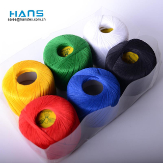 Hans Directly Sell Multicolor Cotton Sewing Thread