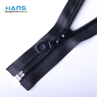 Hans Gold Supplier Fastness to Soaping Zipper for Bags