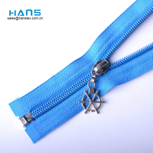 Hans Directly Sell Colorful Size 5# Nylon Zipper