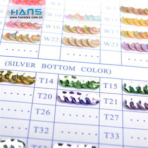 Hans Factory Wholesale Multi Size Sequin Strip