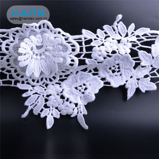 Hans Hot Selling Eco-Friendly 100% Cotton Swiss Voile Lace Fabric