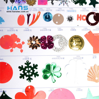 Hans Hot Selling Transparent Sequin Glitter