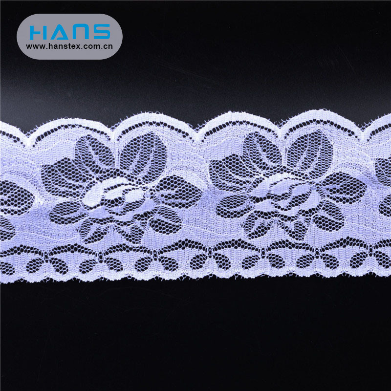 Hans OEM Customized Stylish Applique Lace