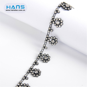 Hans Competitive Price Smooth Rhinestone Body Chain