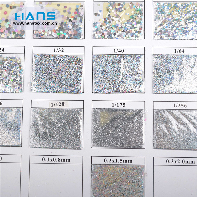 Hans Factory Directly Sell DIY Powder Glitter