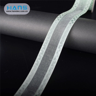 Hans Accept Custom Stylish Knitlon Nylon Ribbon