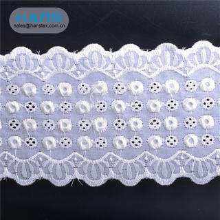 Hans Factory Hot Sales Apparel Lace Trim Wholesale