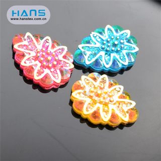 Hans Good Quality Shine Angle Bead