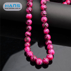 Hans Hot Sale Bright Glass Crystal Bead Chain