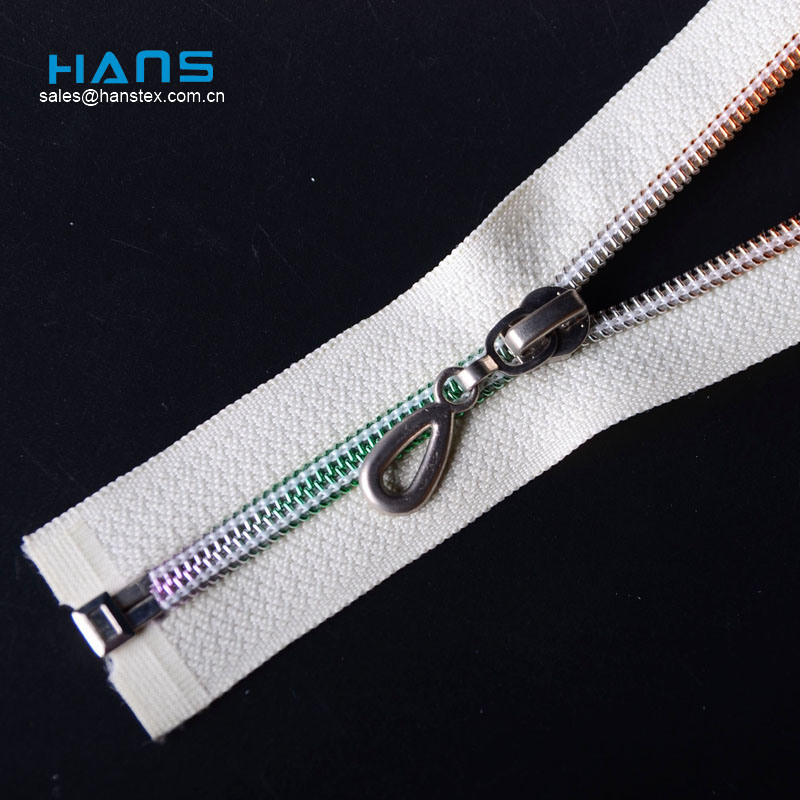 Hans Gold Supplier Fastness to Soaping Cheap Zippers