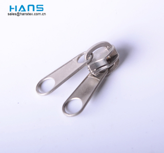 Hans Most Popular Economy High Standard Double Slider Zipper