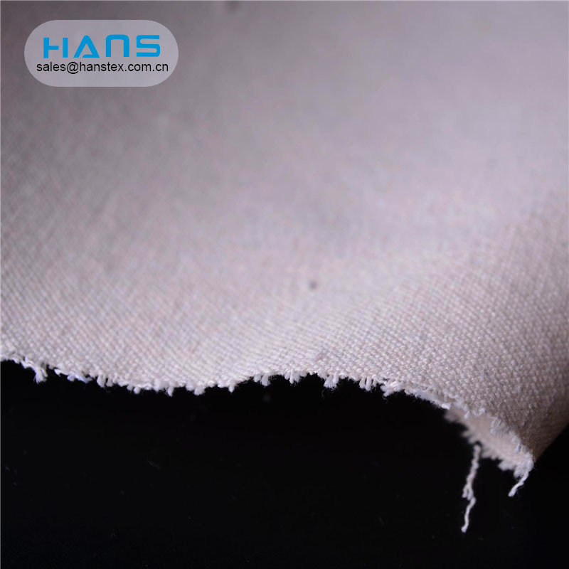 Hans Competitive Price Comfortable Coated Canvas Fabric for Bags