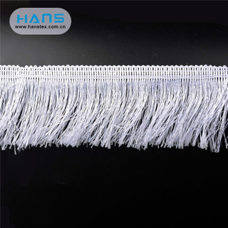 Hans Wholesale China Latest Arrival Tassel Trim Lace