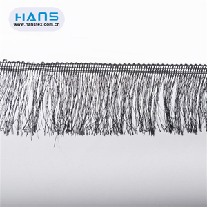 Hans Easy to Use Latest Arrival Stretch Fringe Trim