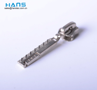 Hans High Quality Painted Metal Slider for Zipper