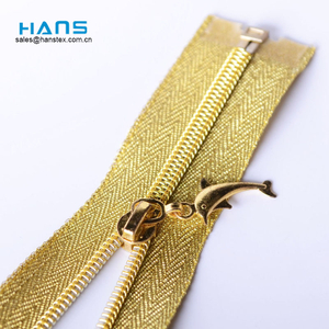 Hans Custom Manufactured Smoothness Zipper Waterproof