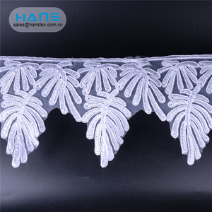 Hans Customized Service Exquisite 3D Flower Lace