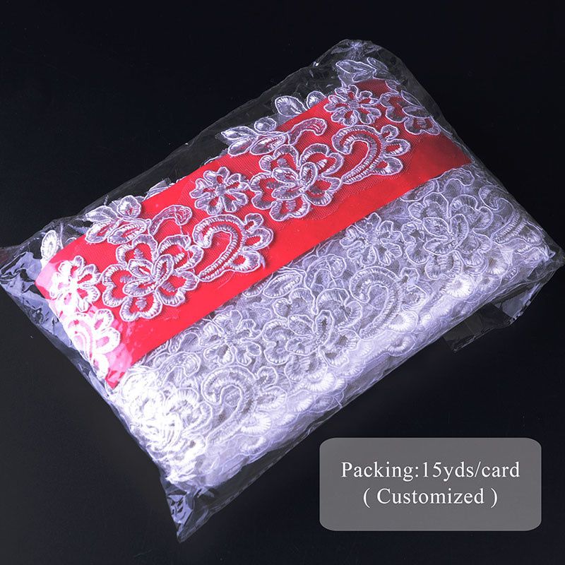 Hans Best Selling New Design Chemical Lace Overlay