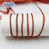 Hans Free Design Logo Soft Red Rope Bracelet