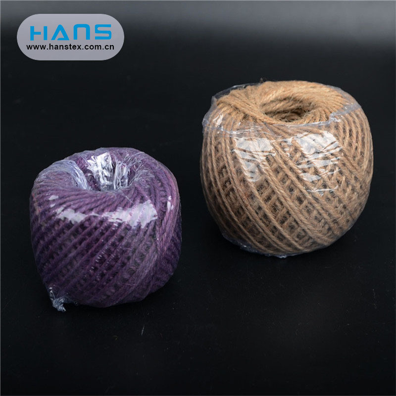 Hans Eco Friendly Taut Natural Hemp Rope