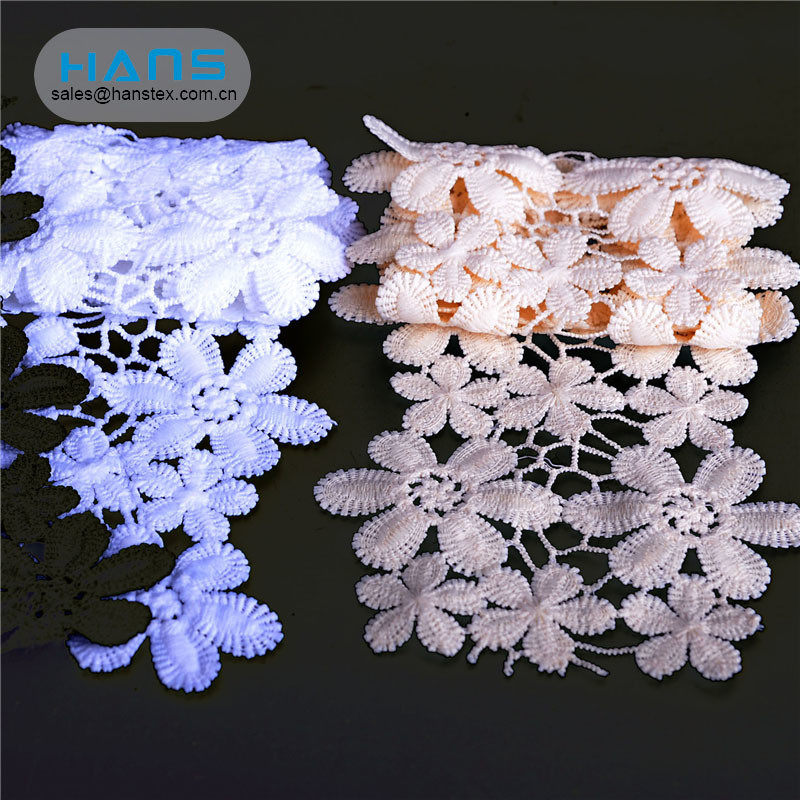 Hans Cheap Price White Lace Band