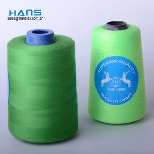 Hans Custom Manufactured Dyed Sewing Thread 100% Spun Polyester