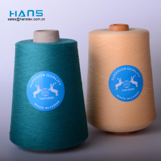 Hans Factory Directly Sell Promotional Spun Polyester Sewing Thread Price