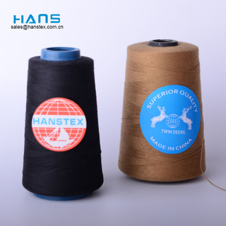 Hans New Products 2019 High Strength Spun Polyester Yarn